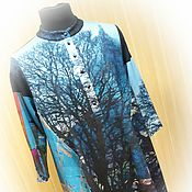 Одежда handmade. Livemaster - original item New - Dress-tunic