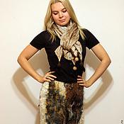Одежда ручной работы. Ярмарка Мастеров - ручная работа Валяная юбка ЭКОМЕХ. Handmade.