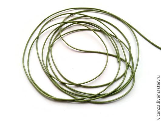 Шнур вощеный (синтетический) для украшений в ассортименте. Используется в скрапбукинге, для изготовления браслетов (в т.ч. шамбала), для ожерелий, бус и т.п