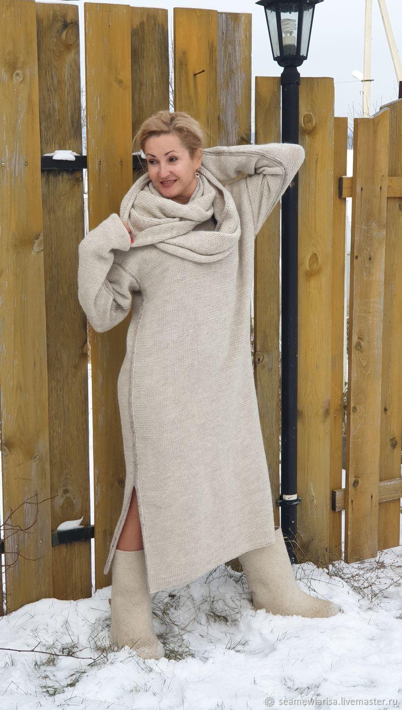 Green Alpaca wool dress, Dresses, Sarapul,  Фото №1