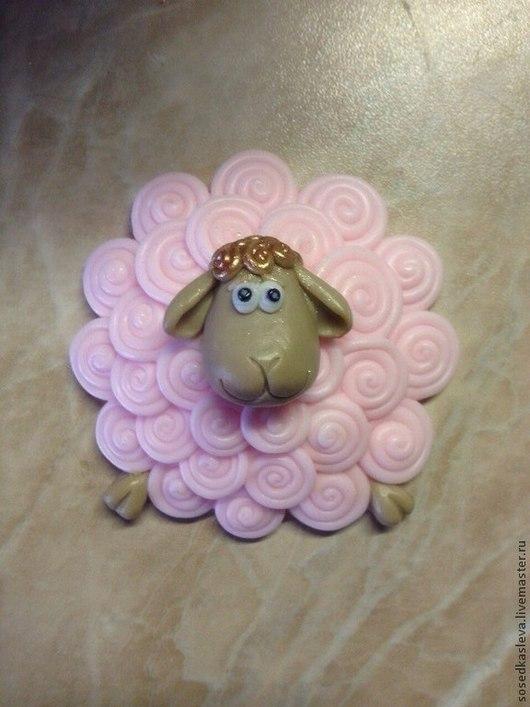 """Мыло ручной работы. Ярмарка Мастеров - ручная работа. Купить Мыло """"Овечка Милашка"""". Handmade. Мыло-овечка, овечка в подарок"""