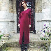 Одежда ручной работы. Ярмарка Мастеров - ручная работа Платье-свитер. Handmade.