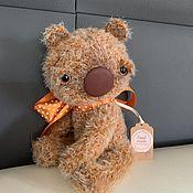 Мягкие игрушки ручной работы. Ярмарка Мастеров - ручная работа Вязаный медвежонок «Поль». Handmade.