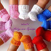 Куклы и игрушки ручной работы. Ярмарка Мастеров - ручная работа носочки кукольные. Handmade.