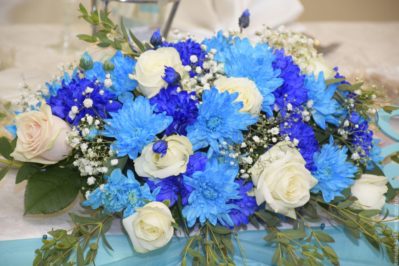 Голубая цветов живых купить минск, глиняном кувшине рядом