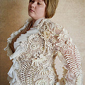 """Одежда ручной работы. Ярмарка Мастеров - ручная работа Жакет """"Сказочный Лотос"""". Handmade."""