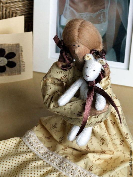 Куклы Тильды ручной работы. Ярмарка Мастеров - ручная работа. Купить Варенька. Handmade. Кремовый, ванильный, синтепон