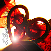 Украшения ручной работы. Ярмарка Мастеров - ручная работа Сердечки (браслет универсальный). Handmade.