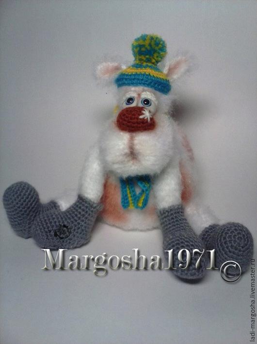 """Игрушки животные, ручной работы. Ярмарка Мастеров - ручная работа. Купить Мастер-класс """"Собака. Снег пошел..."""". Handmade."""