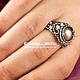 """Кольца ручной работы. Заказать """"Эос"""" Серебряное кольцо с жемчугом. Charm of Metal. Ярмарка Мастеров. Подарок женщине, перстень"""