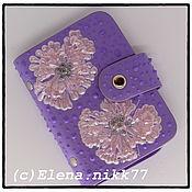 Сумки и аксессуары handmade. Livemaster - original item Holder lilac