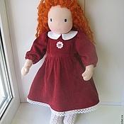 """Куклы и игрушки ручной работы. Ярмарка Мастеров - ручная работа Вальдорфская кукла """" Настенька"""" 42 см.. Handmade."""