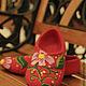 Обувь ручной работы. Ярмарка Мастеров - ручная работа. Купить Войлочные тапочки Весенние. Handmade. Тапочки, красный