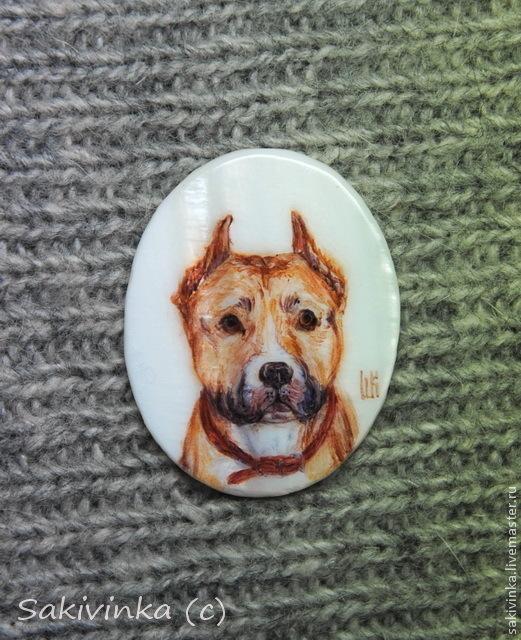 """Кулоны, подвески ручной работы. Ярмарка Мастеров - ручная работа. Купить """"Собакопортреты - 2"""" (варианты) - кулоны с росписью. Handmade. Собака"""