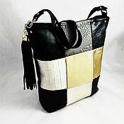 Сумки и аксессуары handmade. Livemaster - original item Women`s leather bag shopper