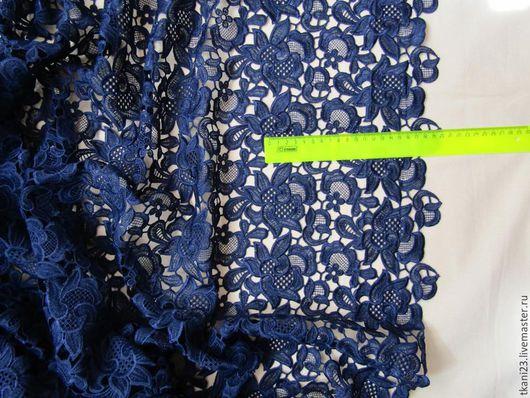 Шитье ручной работы. Ярмарка Мастеров - ручная работа. Купить Кружево арт.3 КР-1 (Корея) темно-синий. Handmade.
