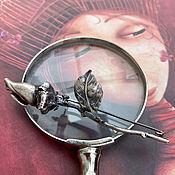 Винтаж handmade. Livemaster - original item Uragash. Unsurpassed Rose Brooch. Handmade.