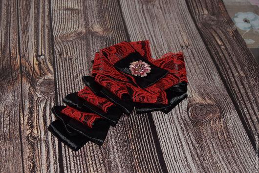 Детская бижутерия ручной работы. Заказать Бант-галстук для леди.. Арт-дизайн от Annы Koshenkovoi. (koshenkova). Ярмарка Мастеров. кабошон