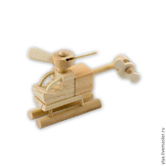 """Куклы и игрушки ручной работы. Ярмарка Мастеров - ручная работа. Купить Кукольная миниатюра """"Вертолёт"""".. Handmade. Комбинированный, дерево"""