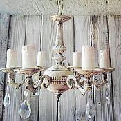 Chandeliers handmade. Livemaster - original item Chandelier Provence.Shabby chic. vintage.. Handmade.