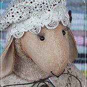 Куклы и игрушки ручной работы. Ярмарка Мастеров - ручная работа Овечка Капучинка. Handmade.