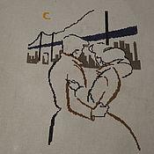 Картины и панно ручной работы. Ярмарка Мастеров - ручная работа Двое. Handmade.