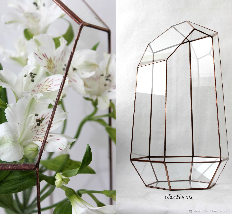 The Floriana. Geometric Floriana. Orchidarium. Vase for Floriana, Pots1, St. Petersburg,  Фото №1