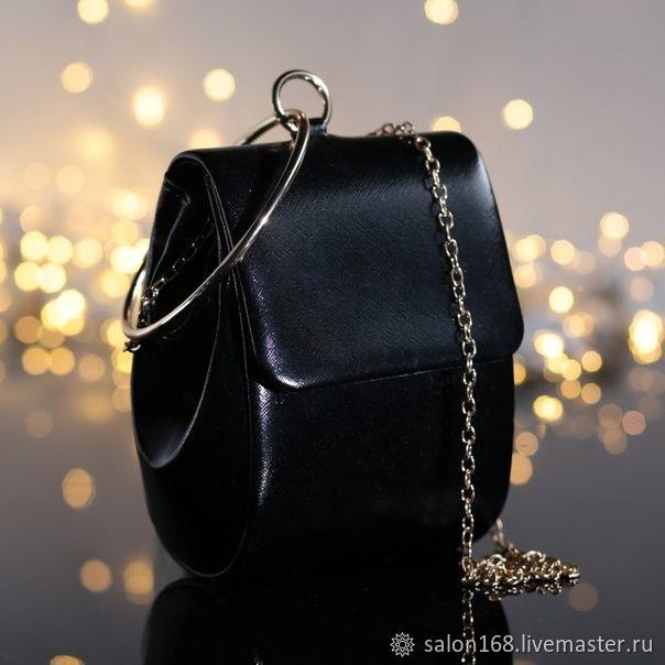 d7d804d6d2ba Женские сумки ручной работы. Ярмарка Мастеров - ручная работа. Купить  Чёрный вечерний клатч из ...