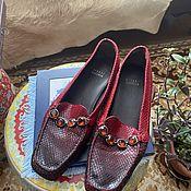 Винтаж handmade. Livemaster - original item Loafers: Stuart Weitzman Vintage.. Handmade.
