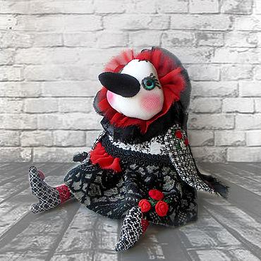 Куклы и игрушки ручной работы. Ярмарка Мастеров - ручная работа Ворона Изольда. Handmade.