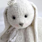 """Куклы и игрушки ручной работы. Ярмарка Мастеров - ручная работа Зайка Тедди """"Ангел"""". Handmade."""