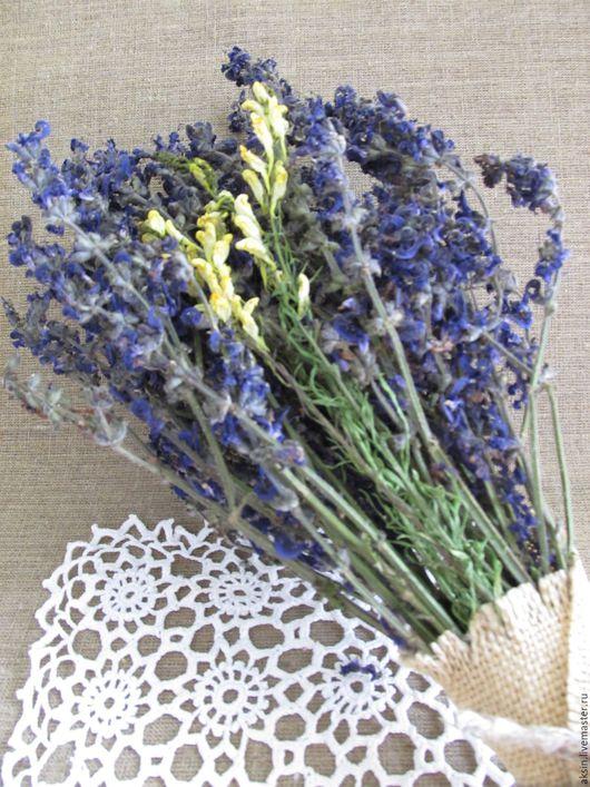 Букеты ручной работы. Ярмарка Мастеров - ручная работа. Купить Букет из цветков шалфея и льнянки. Handmade. Мята, эко-стиль