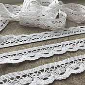 Материалы для творчества handmade. Livemaster - original item Lace cotton 28 mm