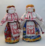 """Куклы и игрушки ручной работы. Ярмарка Мастеров - ручная работа Авторская кукла-оберег """"На удачное замужество"""" (по мотивам народной). Handmade."""
