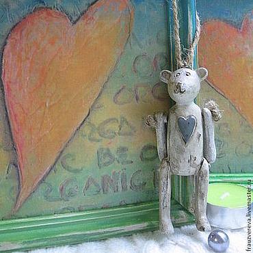 """Для дома и интерьера ручной работы. Ярмарка Мастеров - ручная работа """"Два сердца"""". Handmade."""