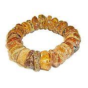 Украшения handmade. Livemaster - original item Bracelet amber natural stone bracelet for women men. Handmade.