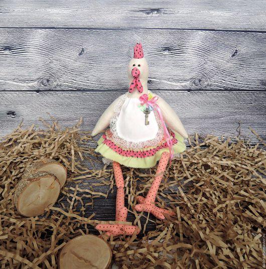 Игрушки животные, ручной работы. Ярмарка Мастеров - ручная работа. Купить Пасхальная курочка тильда. Текстильная интерьерная игрушка.. Handmade.