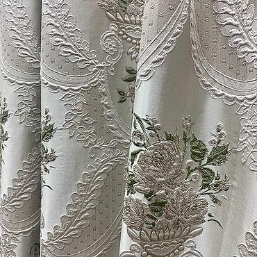 Текстиль ручной работы. Ярмарка Мастеров - ручная работа Шторы Роскошь 5. Handmade.
