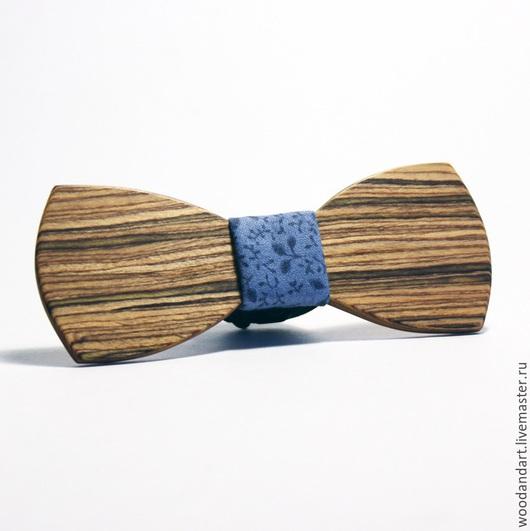 Галстуки, бабочки ручной работы. Ярмарка Мастеров - ручная работа. Купить Деревянная галстук- бабочка. Handmade. Деревянная бабочка