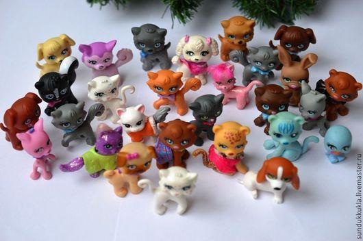 Куклы и игрушки ручной работы. Ярмарка Мастеров - ручная работа. Купить Игрушки для кукол миниатюрные 2-4 см. Handmade.