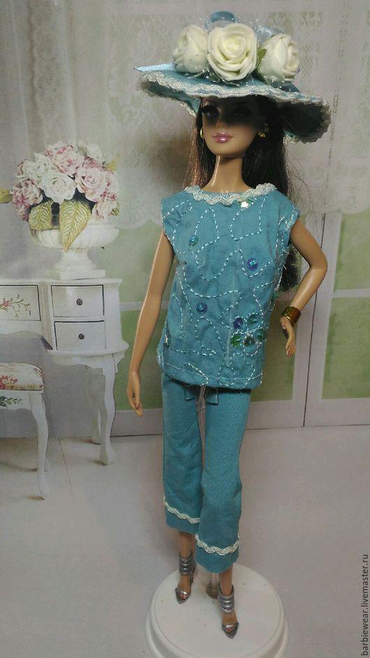 """Одежда для кукол ручной работы. Ярмарка Мастеров - ручная работа. Купить Костюм """"Кокетка"""". Handmade. Для Барби, платье для Барби"""