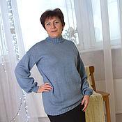 Одежда handmade. Livemaster - original item Knitted sweater women`s MARY. Handmade.