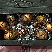 Декор ручной работы. Ярмарка Мастеров - ручная работа Яйца пасхальные в коробе. Handmade.