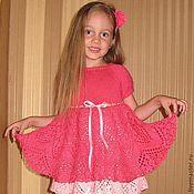 Работы для детей, ручной работы. Ярмарка Мастеров - ручная работа Нарядное платье Дюймовочки. Handmade.