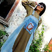 Одежда ручной работы. Ярмарка Мастеров - ручная работа Комплект (сарафан, блузка) в стиле БОХО (№328). Handmade.