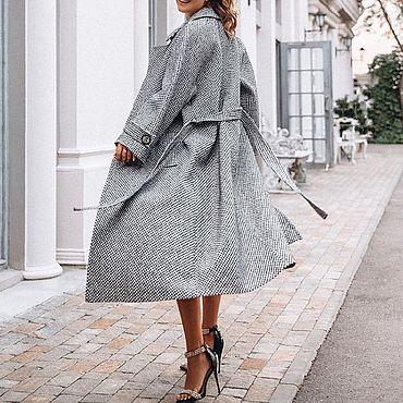 Одежда ручной работы. Ярмарка Мастеров - ручная работа Шерстяное пальто. Handmade.