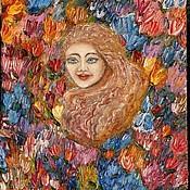 """Картины и панно ручной работы. Ярмарка Мастеров - ручная работа Картина """"Весна"""". Handmade."""