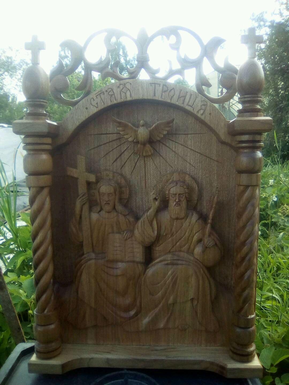 Икона святая троица, Иконы, Ковров,  Фото №1