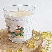 Сувениры и подарки handmade. Livemaster - original item Soy Wax Candle - Magic Forest. Handmade.
