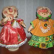Подарки к праздникам ручной работы. Ярмарка Мастеров - ручная работа А мы тут плюшками балуемся... (кукла). Handmade.